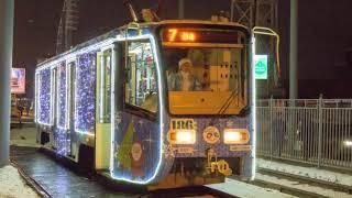 В Ярославле начал курсировать волшебный трамвай