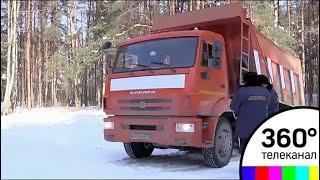 Незаконную схему вывозки снега придумал один из жителей Дубны