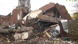 Трехэтажный особняк рухнул в одно мгновение в частном секторе Железнодорожного района