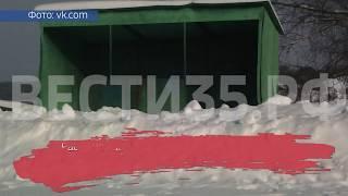 Коммунальщики замуровали автобусную остановку