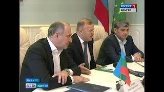 В Адыгее с визитом побывали главы Кабардино Балкарии и Карачаево Черкесии