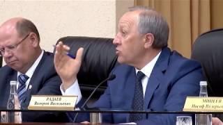 В правительстве обсуждали вопросы обманутых дольщиков