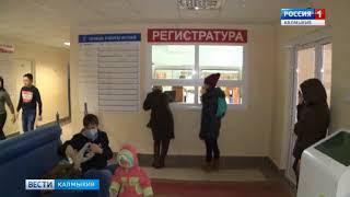 Заболеваемость ОРВИ и гриппом в Калмыкии стабилизировалась