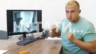 Спортсмен-вандал завелся в Московском районе
