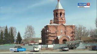 В селе Алтайского края восстанавливают Знаменский храм