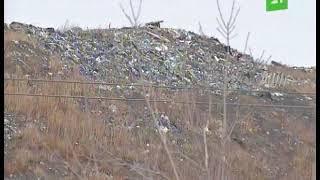 Тление мусора на закрытой свалке в Челябинске продолжается