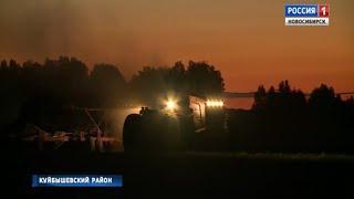 Аграрии Новосибирской области перешли на круглосуточный режим работы