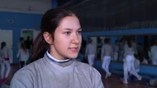 160 спортсменов сразились в первенстве области по фехтованию