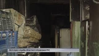 В Рыбинске горел жилой дом: есть пострадавший