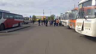В Сыктывкаре водители автобусов не вышли на рейсы