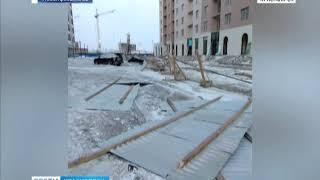 Анонс: сильный шторм обрушился на Красноярский край