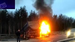 ✦Погибшие в огненном ДТП в Петербурге люди возвращались из Финляндии✦