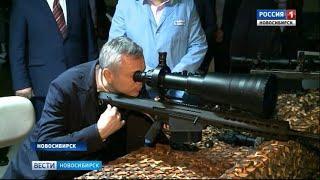 Андрею Травникову на «Катоде» показали уникальные прицелы для российской армии