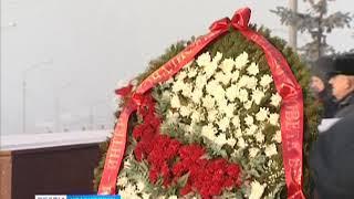 В Красноярске почтили память воинов-интернационалистов