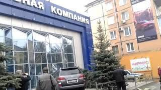 ДТП 50 лет октября Кемерово. Топливная компания.