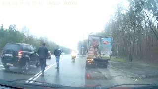 """""""Рено"""" сбил двух женщин на переходе в Воронеже, одна из них погибла"""