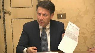 Споры вокруг бюджета Италии