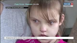 «Добро без границ» Анна Хрестина страдает от поражения головного мозга