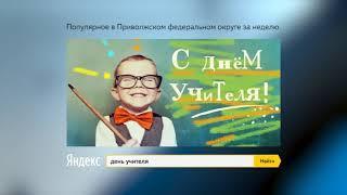 ТОП-5 запросов в поисковой системе Яндекс: 4-11 октября