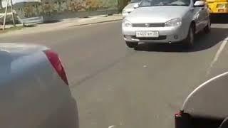 Cбили женщину на пешеходном переходе