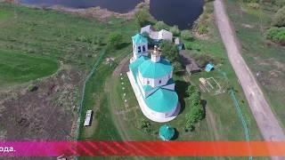 Од пинге. Троицкий храм в с.Андреевка Ардатовского района