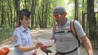 В Ставрополе полицейские провели профилактику краж велосипедов.