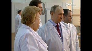Президент России встретился с женщинами-предпринимателями из разных субъектов страны
