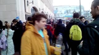 """Эвакуация в торговом комплексе """"Победа Плаза"""""""