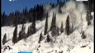 В Красноярском крае начали искусственно спускать лавины