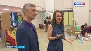 В Архангельске — Международный фестиваль уличных театров