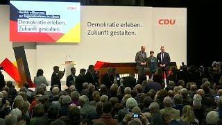 К съезду ХДС в Гамбурге