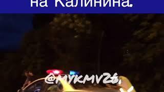 Тройное ДТП с участием маршрутки произошло в Пятигорске