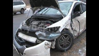 Две машины скорой помощи попали в ДТП на улице Промышленной в Хабаровске. Mestoprotv