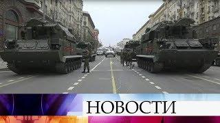 В Москве проходит генеральная репетиция Парада в честь Дня Победы.