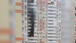 Один человек пострадал в результате утреннего пожара в Суворовском микрорайоне Ростова
