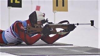 Югорчанин Никита Поршнев завоевал бронзу в спринте на Кубке России по биатлону