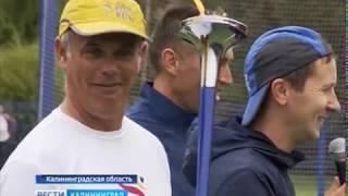 Участники марафона «Бег мира» пробежали от Калининграда до Черняховска
