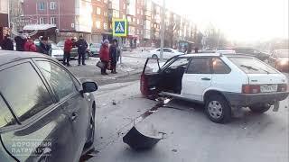 09.03.2018 ДТП Ачинск. ул. Кравченко на Лотосе.