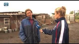 В Омской области дом сгорел после удара молнией