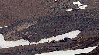 20 человек погибли при крушении ретро-самолёта в Швейцарии…