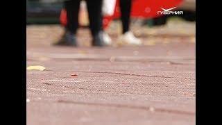 Детская площадка в Самаре, с которой якобы украли покрытие, цела