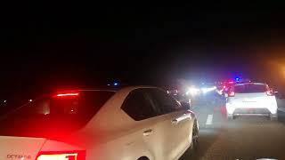 Toyota Camry влетела в ограждение на федеральной трассе «Кавказ»: есть жертвы
