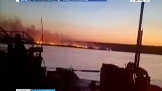 Лесные пожары в Красноярском крае подступают к городам и поселкам