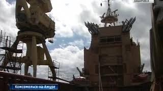 Вести-Хабаровск. Судно снабжения отправилось во Владивосток