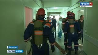 В Барнауле прошла учебная эвакуация из городской больницы