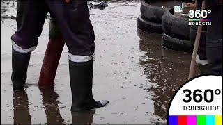 Сотни спасателей борются с последствиями паводка в Сибири