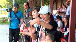 """В детском лагере """"Колосок""""  проводят каникулы ребята из школы-интерната поселка Новобурейский"""