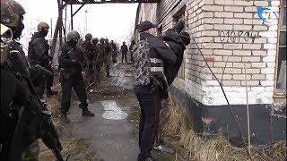 В Чудове прошли масштабные учения правоохранителей