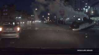 Другой ракурс МОМЕНТА ДТП 09.11.2018 Алешина Космонавтов Ангарск