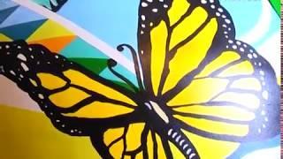 Самарские художники создали 8 гигантских матрешек к ЧМ-2018